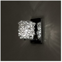 WAC Lighting WS58LED-G544SL/CH Eternity Jewelry 1 Light 4 inch Chrome Wall Sconce Wall Light in 6, Silver