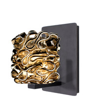 WAC Lighting WS58LED-G544GL/RB Eternity Jewelry 1 Light 4 inch Dark Bronze Wall Sconce Wall Light in 6 Gold (Candy)