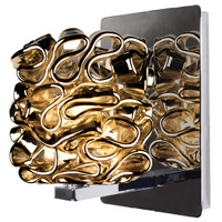 WAC Lighting WS58LED-G544GL/CH Eternity Jewelry 1 Light 4 inch Chrome Wall Sconce Wall Light