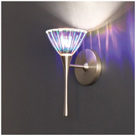 WAC Lighting WS57LED-G518DIC/BN European LED 4 inch Brushed Nickel Wall Sconce Wall Light