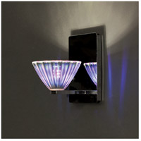 WAC Lighting WS58LED-G518DIC/CH European LED 4 inch Chrome Wall Sconce Wall Light in 6