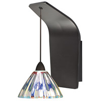 WAC Lighting WS72-G518DIC/RB European LED 5 inch Dark Bronze Pendant Wall Sconce Wall Light in 50