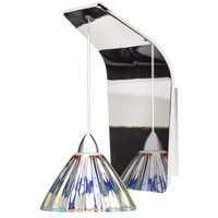 WAC Lighting WS72-G518DIC/CH European LED 5 inch Chrome Pendant Wall Sconce Wall Light in 50