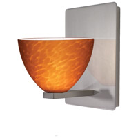 WAC Lighting WS58LED-G541AM/BN Americana LED 4 inch Brushed Nickel Wall Sconce Wall Light