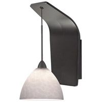 WAC Lighting WS72-G541WT/RB Americana LED 5 inch Dark Bronze Pendant Wall Sconce Wall Light in 50, White (Americana)