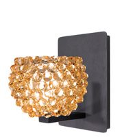 WAC Lighting WS58LED-G542CD/RB Eternity Jewelry 1 Light 4 inch Dark Bronze Wall Sconce Wall Light
