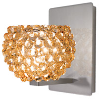 WAC Lighting WS58LED-G542CD/BN Eternity Jewelry 1 Light 4 inch Brushed Nickel Wall Sconce Wall Light
