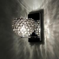 WAC Lighting WS58LED-G542BI/CH Eternity Jewelry 1 Light 4 inch Chrome Wall Sconce Wall Light