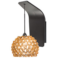 WAC Lighting WS72LED-G542CD/RB European LED 5 inch Dark Bronze Pendant Wall Sconce Wall Light in Dichroic