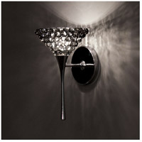 WAC Lighting WS57LED-G543BI/CH Eternity Jewelry LED 4 inch Chrome Wall Sconce Wall Light in Black Ice