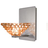 WAC Lighting WS58-G543CD/BN Eternity Jewelry 1 Light 5 inch Brushed Nickel Wall Sconce Wall Light photo thumbnail