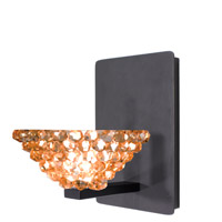 WAC Lighting WS58LED-G543CD/RB Eternity Jewelry 1 Light 4 inch Dark Bronze Wall Sconce Wall Light