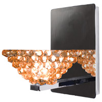 WAC Lighting WS58LED-G543CD/CH Eternity Jewelry 1 Light 4 inch Chrome Wall Sconce Wall Light