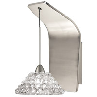 WAC Lighting WS72LED-G543WD/BN Artisan LED 5 inch Brushed Nickel Pendant Wall Sconce Wall Light