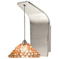 Artisan LED 5 inch Brushed Nickel Pendant Wall Sconce Wall Light