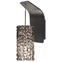 WAC Lighting WS72-G939BI/RB Eternity Jewelry 1 Light 5 inch Dark Bronze Pendant Wall Sconce Wall Light in 50, Black Ice