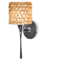 WAC Lighting WS57LED-G539CD/CH Eternity Jewelry LED 4 inch Chrome Wall Sconce Wall Light