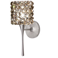 WAC Lighting WS57LED-G539BI/BN Eternity Jewelry LED 4 inch Brushed Nickel Wall Sconce Wall Light