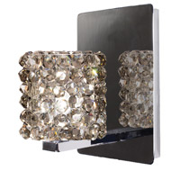 WAC Lighting WS58LED-G539BI/CH Eternity Jewelry 1 Light 4 inch Chrome Wall Sconce Wall Light