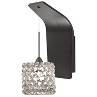 WAC Lighting WS72-G539WD/RB Eternity Jewelry 1 Light 5 inch Dark Bronze Pendant Wall Sconce Wall Light in 50, White Diamond