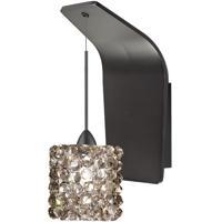 WAC Lighting WS72-G539BI/RB Eternity Jewelry 1 Light 5 inch Dark Bronze Pendant Wall Sconce Wall Light in 50 Black Ice