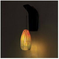 WAC Lighting WS72LED-G954IR/RB Pacific Northwest LED 5 inch Dark Bronze Pendant Wall Sconce Wall Light in 6.4