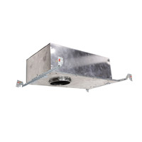 Tesla Recessed Lighting LED Brushed Nickel Recessed Housing, IC Rated Airtight New Construction
