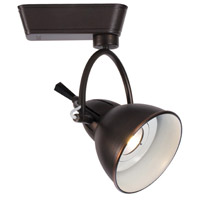 WAC Lighting H-LED710F-27-AB 120V Track System 1 Light Antique Bronze LEDme Directional Ceiling Light in 2700K, 32 Degrees, H Track