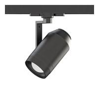 WAC Lighting WTK-LED523-40-BK Paloma 1 Light 120V Black Low Voltage Track Head Ceiling Light in 4000K, 85