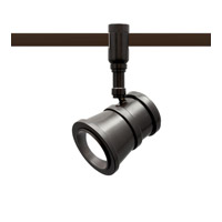 WAC Summit LED Line Voltage Track Head in Dark Bronze HM1-LED208-30-DB