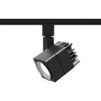 WAC Lighting L-LED207-30-BK Summit 1 Light 120V Black Line Voltage Track Head Ceiling Light in L Track