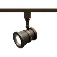 WAC Lighting J-LED208-30-AB Summit 1 Light 120V Antique Bronze Line Voltage Track Head Ceiling Light in J Track