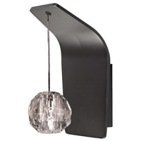 WAC Lighting WS72-G930CL/RB Polaris 1 Light 5 inch Rubbed Bronze Wall Sconce Wall Light