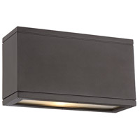 Rubix LED 5 inch Bronze Indoor/Outdoor Wall Sconce