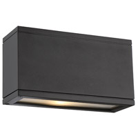 WAC Lighting WS-W2510-BK Rubix LED 5 inch Black Indoor/Outdoor Wall Sconce