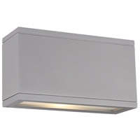 Rubix LED 5 inch Graphite Indoor/Outdoor Wall Sconce
