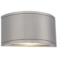 WAC Lighting WS-W2610-AL Tube LED 5 inch Brushed Aluminum Indoor/Outdoor Wall Sconce