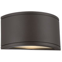 Tube LED 5 inch Bronze Indoor/Outdoor Wall Sconce