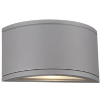 WAC Lighting WS-W2609-GH Tube LED 5 inch Graphite Indoor/Outdoor Wall Sconce