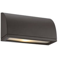Scoop LED 6 inch Bronze Indoor/Outdoor Wall Sconce
