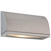 WAC Lighting WS-W20506-AL Scoop LED 6 inch Brushed Aluminum Indoor/Outdoor Wall Sconce