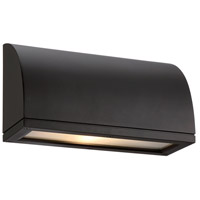 WAC dweLED Scoop LED Indoor/Outdoor Wall Sconce in Black WS-W20506-BK