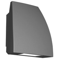 Endurance LED 8 inch Architectural Graphite Outdoor/Indoor Wall Pack in 3000K