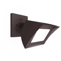 Endurance LED 5 inch Architectural Bronze Flood Light Outdoor/Indoor Wall Pack in 3000K