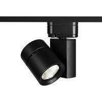 WAC Lighting H-1035N-835-BK 120V Track System 1 Light 120V Black LEDme Directional Ceiling Light in 3500K, 85, 25 Degrees, H Track