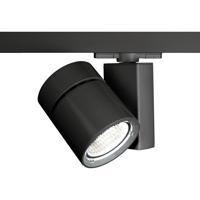 WAC Lighting WHK-1035F-830-BK Architectural Track System 1 Light 277V Black LEDme Directional Ceiling Light in 3000K 85 55 Degrees