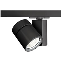 WAC Lighting WHK-1035F-840-BK Architectural Track System 1 Light 277V Black LEDme Directional Ceiling Light in 4000K, 85, 55 Degrees
