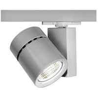 WAC Lighting Exterminator II LED 52W W Track Fixture 277V 3500K Flood Beam in Platinum WHK-1052F-835-PT