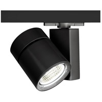 WAC Lighting Exterminator II LED 52W W Track Fixture 277V 4000K Flood Beam in Black WHK-1052F-840-BK