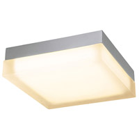 WAC Lighting FM-4012-27-BN Dice LED 12 inch Brushed Nickel Flush Mount Ceiling Light in 2700K